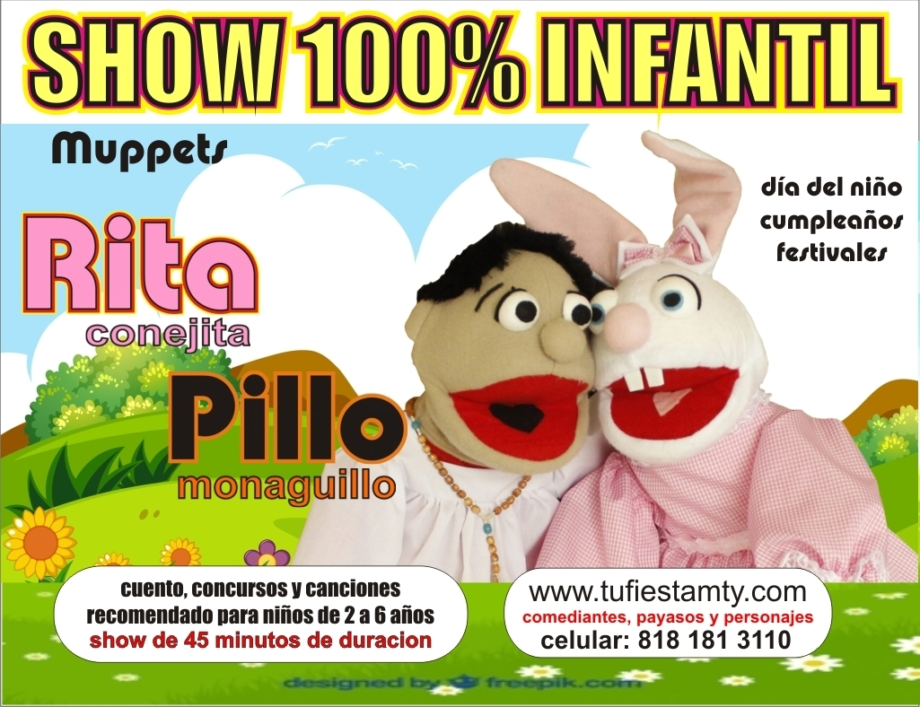 shows infantiles monterrey