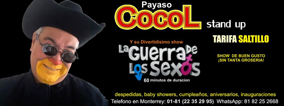 SHOW DE PAYASOS EN SALTILLO